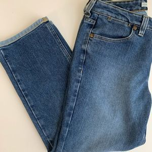 Tommy Hilfiger Cropped Hipster Jeans Sz 6
